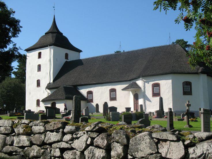 Leksbergs kyrka (church), Mariestad, Sweden. Photo by Monica Borg.