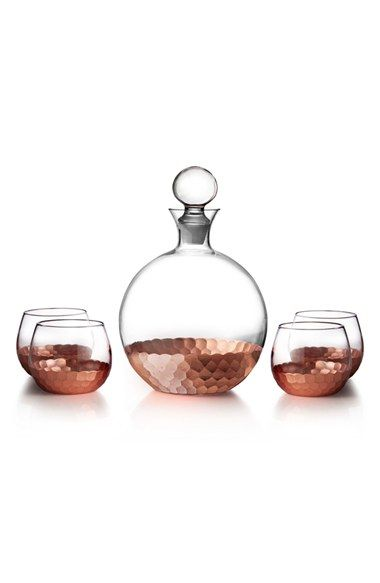 American Atelier 'Daphne' Decanter & Whiskey Glasses (Set of 5) available at #Nordstrom