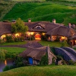 The Green Dragon is a real life whimsical Hobbit Pub located in Switzerland.