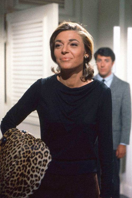Anne Bancroft and Dustin Hoffman in The Graduate, 1967.