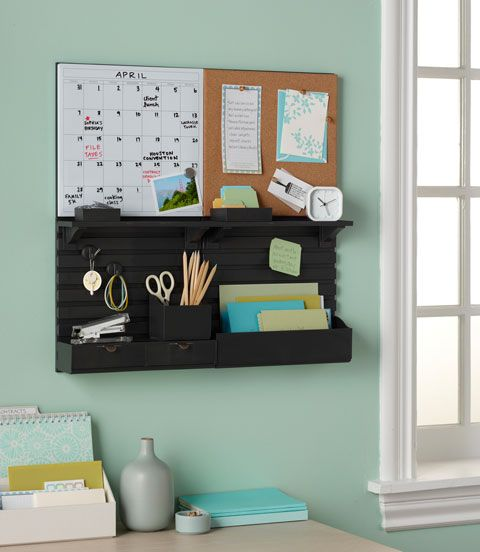 Martha Stewart wall organizer interchangeable pieces love this! at staples