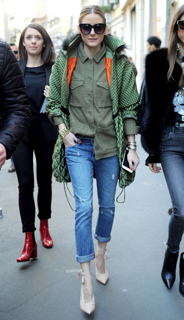 Olivia Palermo perfected a simple style trick that can make you appear taller.