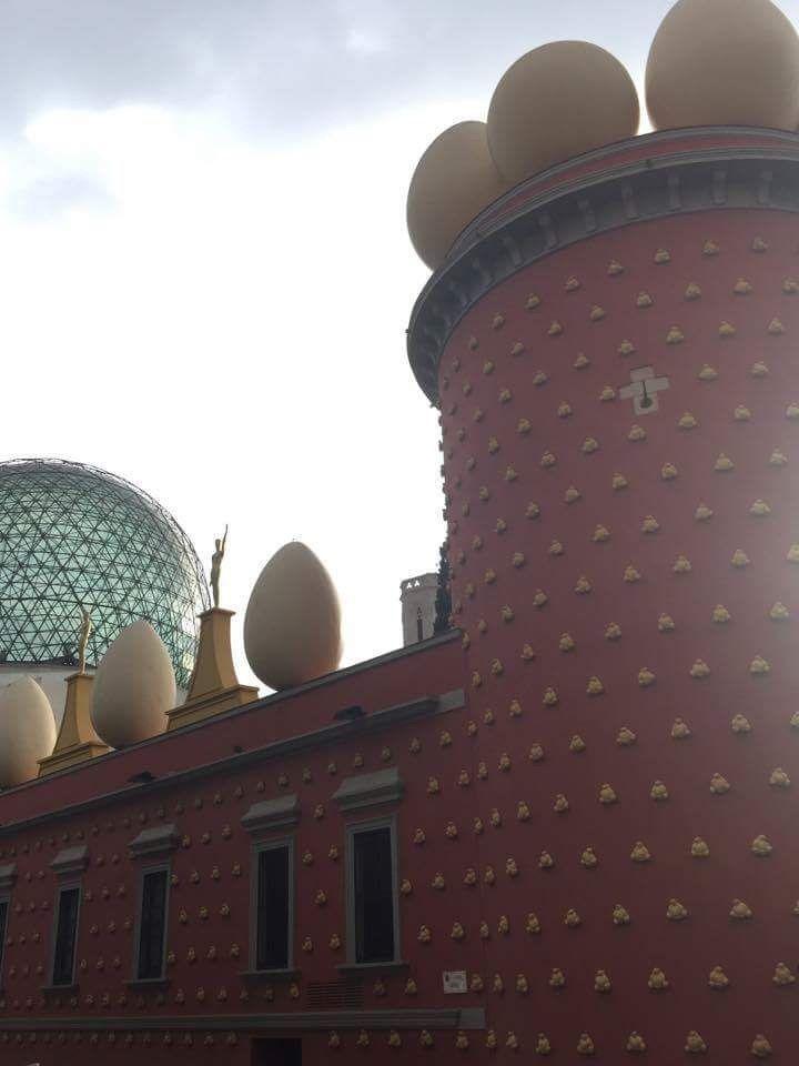Teatro Museo Gala Salvador Dalí, Figueres, Costa Brava, Spanyolország
