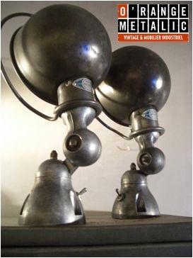 Jieldé O'Range Metalic Mobilier Industriel
