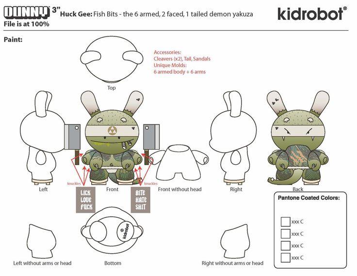 "Huck Gee & Kidrobot: ""Gold Life Dunny: Series 2"" / Виниловые игрушки / Всё о дизайнерских виниловых игрушках - Vinyltoys.kz"
