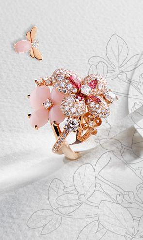 """Lumières célestes"" high jewellery   Chaumet"