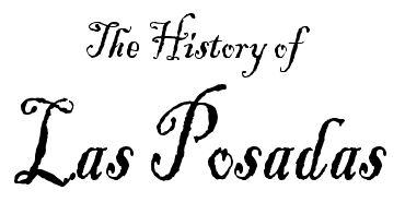 Las Posadas History & Cartoon by Brownielocks.