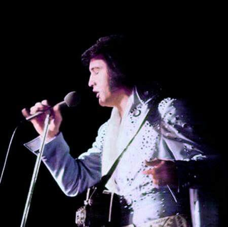 April 8, 1972  Elvis In Concert  Knoxville, Tennessee  TCB⚡ TLC⚡