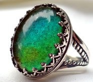 Mood ring, oh mood ring! Oh tell me will you bring the key, to unlock this mystery?