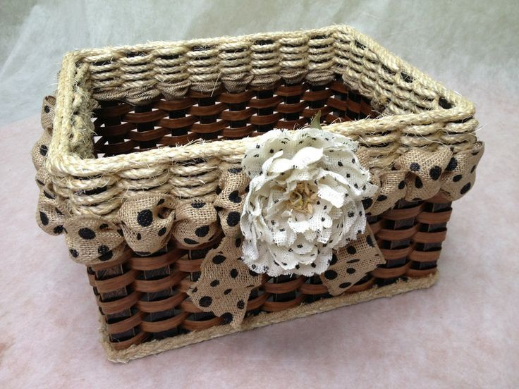Shabby Chic Collection-Cubby Basket