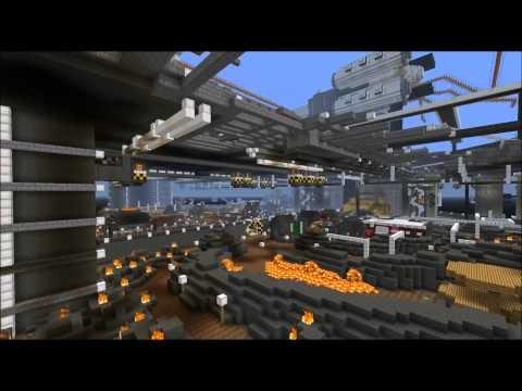 Final Fantasy VII's Midgar Mesmerizes in Minecraft