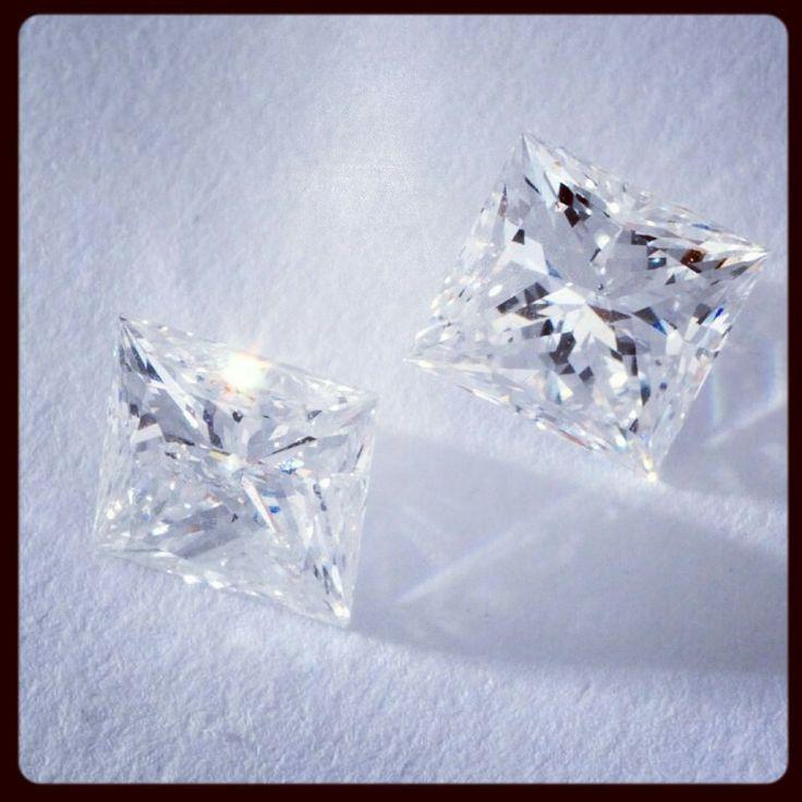 Princess cut diamond's