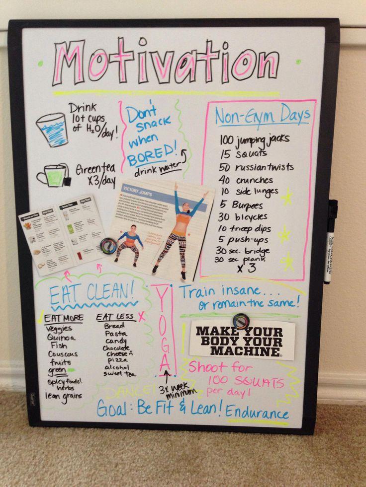 Мотивирующий дневник для похудения