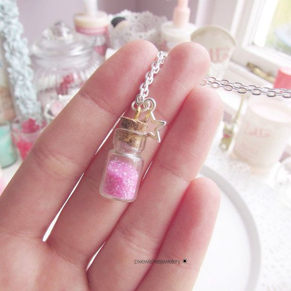 Fairy Dust Necklace by PixieWishesJewellery on Etsy