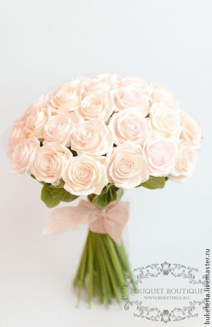 Букет невесты из полимерной глины - букет невесты,букет из глины,букет из полимерной глины