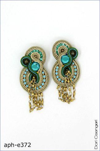 Beautiful earrings by Dori Csengeri