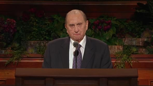 President Thomas S. Monson encourages us to keep the commandments and identifies some of the blessings for doing so.