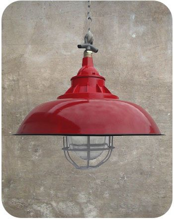 Iconic industrial lights | Commercial lighting | Metal fixtures