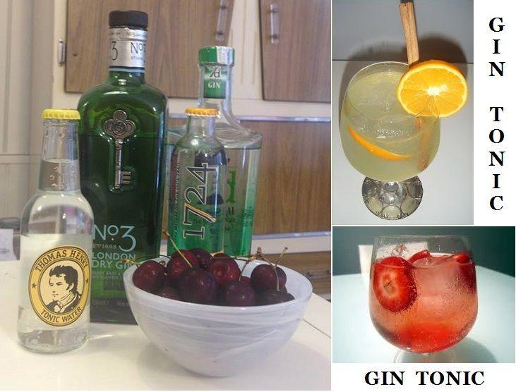 Gin Tonics.