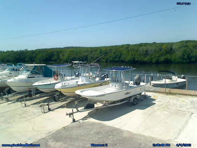 Live Webcam at D and D Matlacha Bait and Tackle overlooking the Marina and canal. You can see a lot of great sunsets in the evening time.