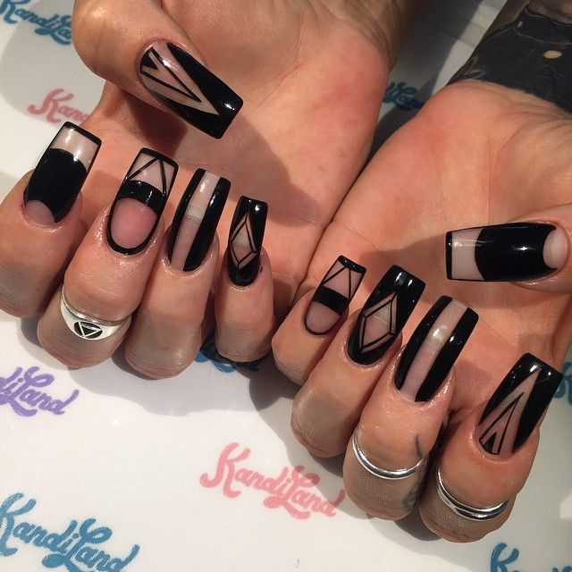 If they were coffin shaped or stiletto, I would get these