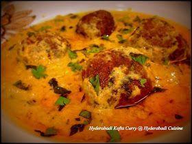 Hyderabadi Cuisine: Hyderabadi Kofta Curry