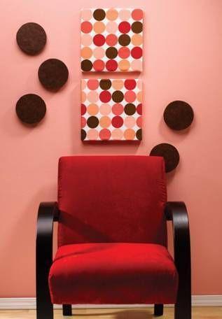Making Wall Art out of Styrofoam » Curbly | DIY Design Community#