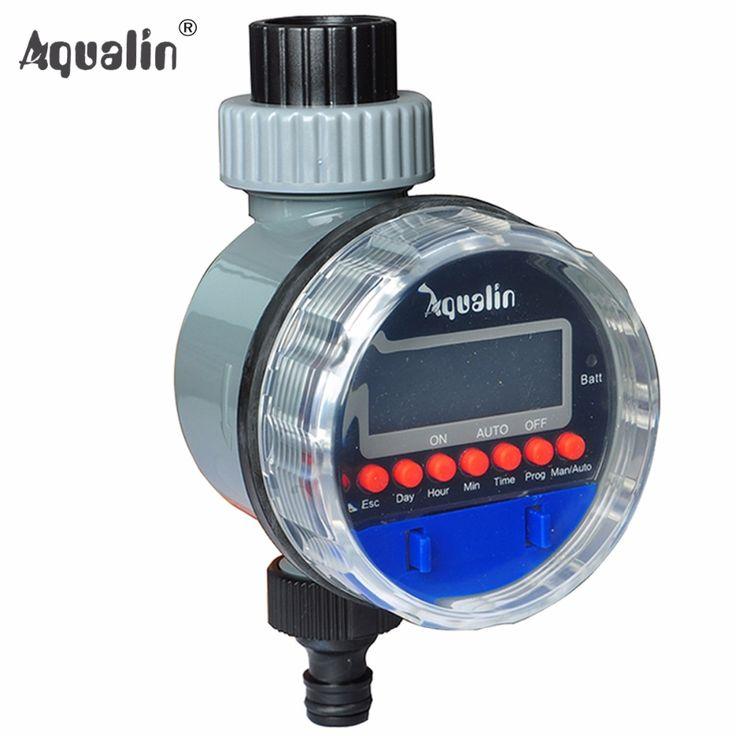 Automático Válvula de Esfera Eletrônica Controlador de Irrigação Temporizador Água Jardim de Casa com Display LCD # 21026A