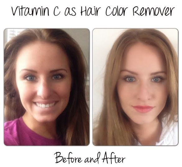 I Lightened My Hair With Vitamin C And Honey I Was Very Impressed How It Took The Darker Dy Lighten Hair With Honey How To Lighten Hair Lighten Hair Naturally