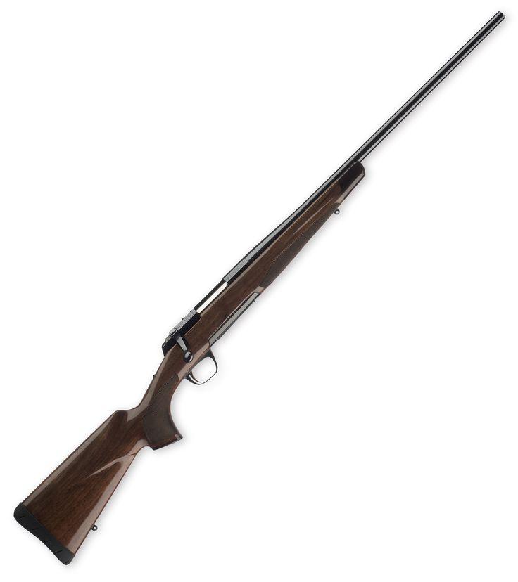 Browning X-Bolt Medallion MSRP $1,040 Gloss high grade walnut, rosewood end cap, polished blued steel, detachable rotary magazine, short throw bolt, adjustable trigger, bolt-action