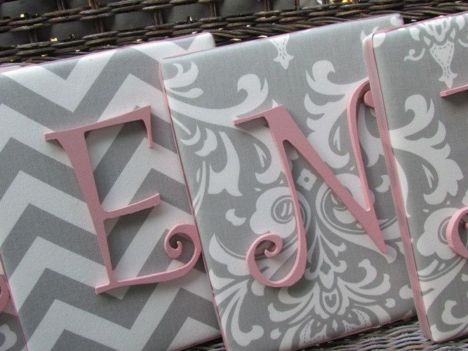 Since we can't paint the walls, this could be a great way to bring the colors onto them - either pink or teal