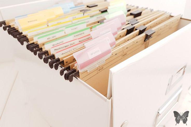 Unterlagen organisieren leicht gemacht