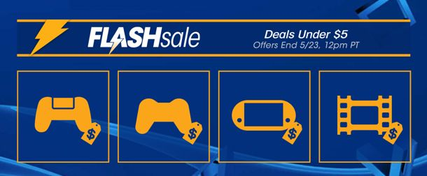 nice PlayStation Store Flash Sale Characteristics Game titles Less than $five