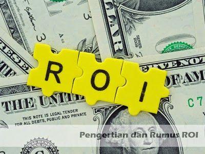 Pengertian dan Rumus ROI (Return on Investment) >> http://goo.gl/SFoVph #ROI #investasi