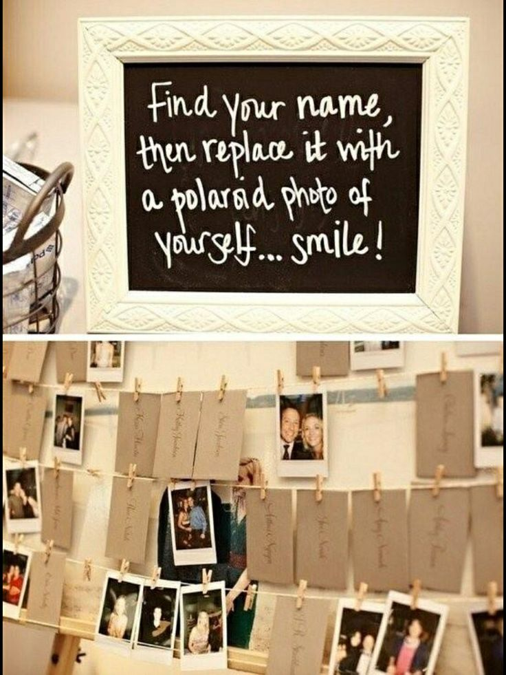 Photo memory of guests
