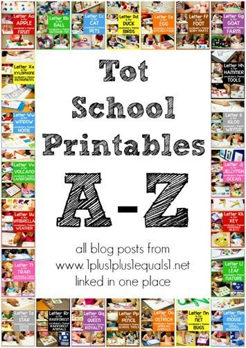 Tot School Printables ~ All posts A-Z from @1plus1plus1 linked in one place!  #totschoolA Z Printables,  Internet Site, Tots Schools Printables A To Z,  Website, Drew Printables, Education, Free Printables, 1 1 1 1 Homeschool, Printables A Z
