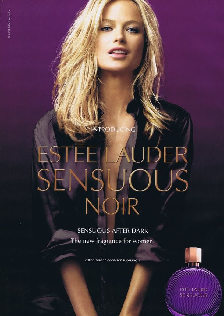 Estee Lauder Sensuous Noir Fragrance F/W 10 (Estee Lauder)