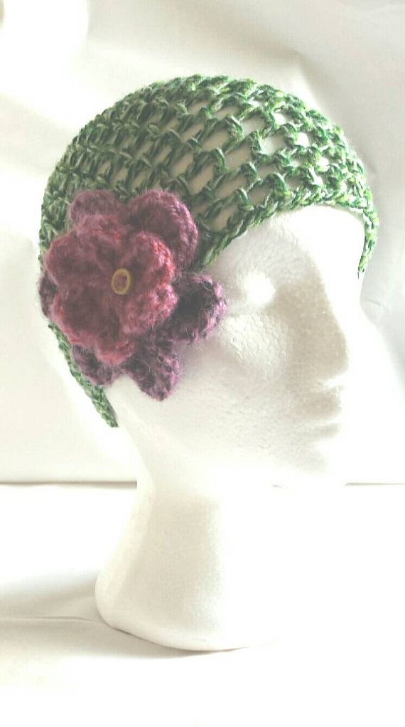 Gorgeous crochet beanie https://www.etsy.com/listing/240011975/ladies-beanie-hat-crocheted-in-green