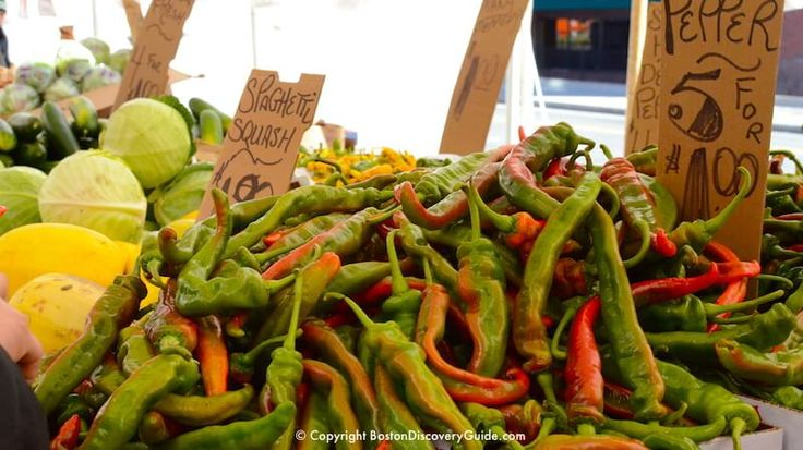 For the cheapest produce in the city, head to historic Haymarket, Boston's bustling open air market near the Freedom Trail. If you love farmers markets, you'll love Boston's Haymarket.