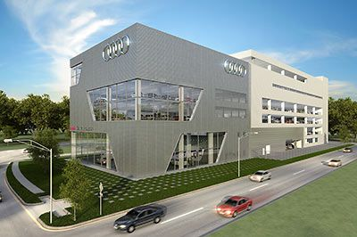 Americas largest and tallest Audi dealership @ 59 SW Frwy