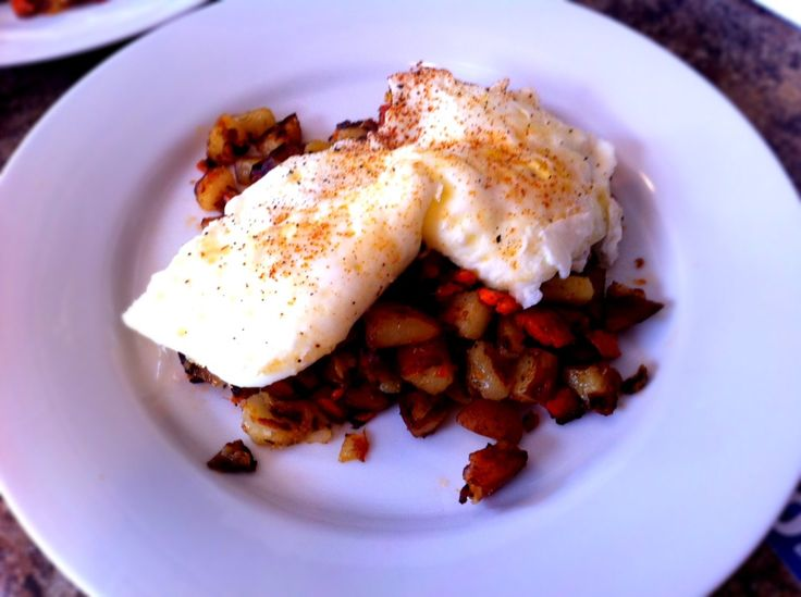 Smoked salmon hash and eggs | Rise and Shine! | Pinterest