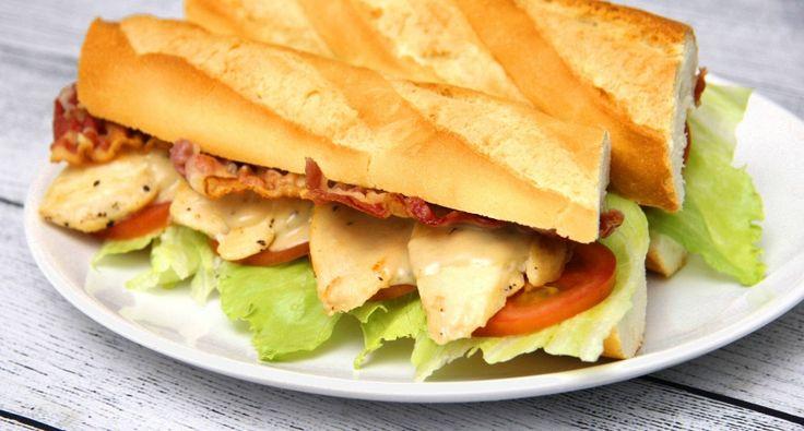 Caesar szendvics recept