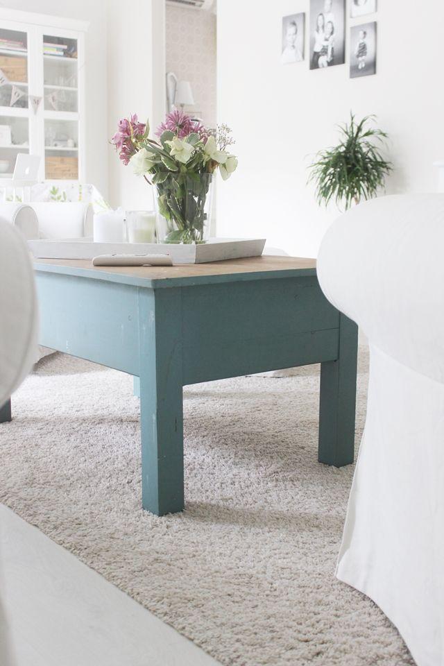 LA PETITE PRINCESSE: SE vintagepöytä ja ajatuksia toisten ilahduttamisesta. #livingroom #vintage #coffeetable