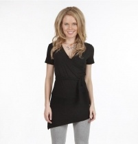 Bamboo Body Florence Faux Wrap Top - $59.95 #travelclothes