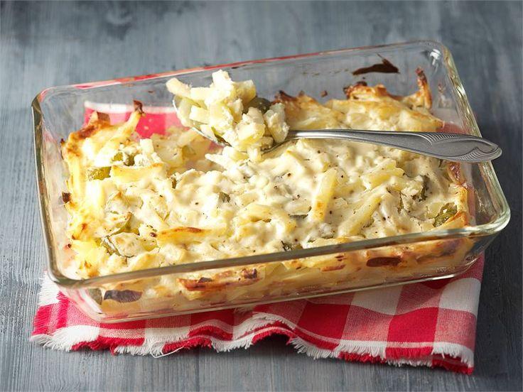 Suolakurkku-hunajaperunat. Helppo ja nopea tapa saada erilaisia makuja pöytään on lisätä suolakurkkuja ja hunajaa tavallisen perunalisäkkeen joukkoon. Miltäs kuulostaa? :)