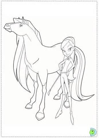 horseland coloring_pages 10jpg horsehoseland pinterest - Horseland Coloring Pages Sunburst