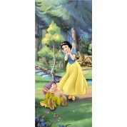 Wall Decoration 90x202cm Disney Princess Snowhite  Biancaneve e i Sette Nani