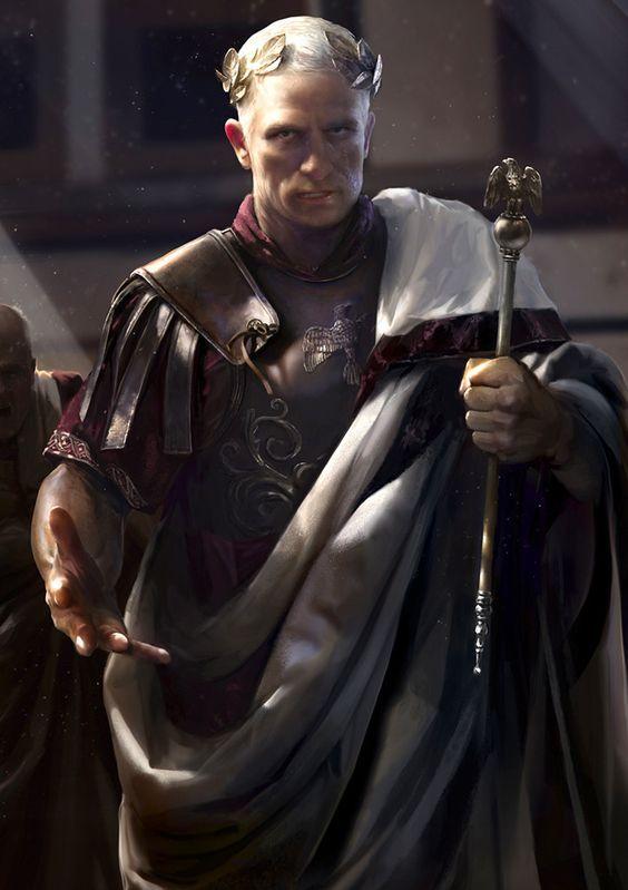 Gaius Julius Caesar by Mariusz Kozik