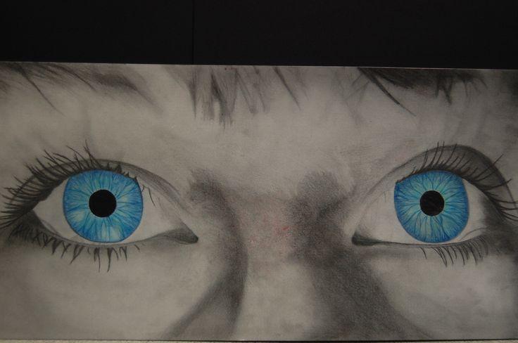 Georgina Kirby, GCSE Art, External Assignment, Silverdale school, 2013