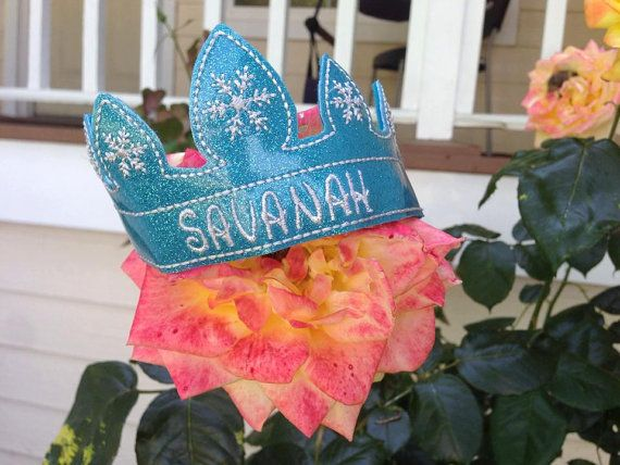 Frozen Inspired Tiara Headband for girls. by RosieKEmbroidery. Frozen inspired, Elsa costume, snow queen tiara. $6+